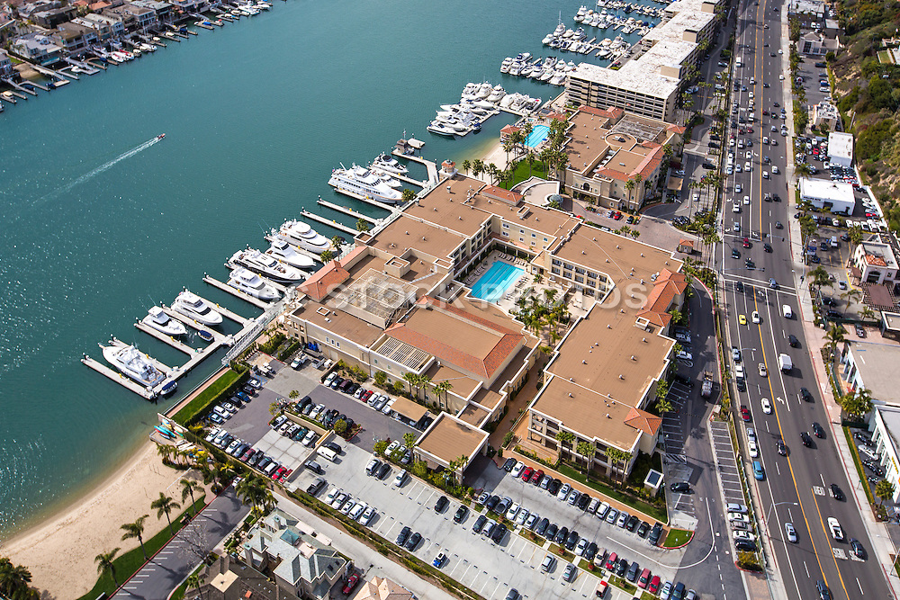 Aerial Photo Of Balboa Bay Club And Resort In Newport Beach