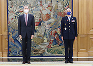 112320 King Felipe VI attends at the meeting of the Scientific Council of the Elcano Royal Institute