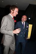 BRADLEY WIGGINS; MARK POWELL, 2012 GQ Men of the Year Awards,  Royal Opera House. Covent Garden, London.  3 September 2012