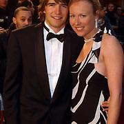 NLD/Amsterdam/20050329 - Premiere Be Cool, Mark Tuitert en partner Helen van Goozen