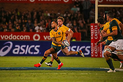 Quade Cooper during the Castle Lager Rugby Championship test match between South Africa and Australia held at Loftus Versfeld stadium in Pretoria on the 1st October 2016<br /> <br /> Photo by: Dominic Barnardt/ RealTime Images