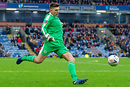Burnley goalkeeper Nick Pope (29) during the The FA Cup 3rd round match between Burnley and Barnsley at Turf Moor, Burnley, England on 5 January 2019.