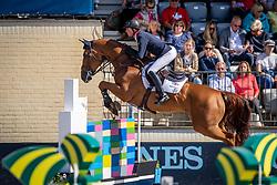 Maher Ben, GBR, Explosion W<br /> European Championship Jumping<br /> Rotterdam 2019<br /> © Hippo Foto - Dirk Caremans
