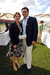 The HON.SELINA TOLLEMACHE and ANDREW WESSELS at the Cartier International polo at Guards Polo Club, Windsor Great Park on 29th July 2007.<br /><br />NON EXCLUSIVE - WORLD RIGHTS