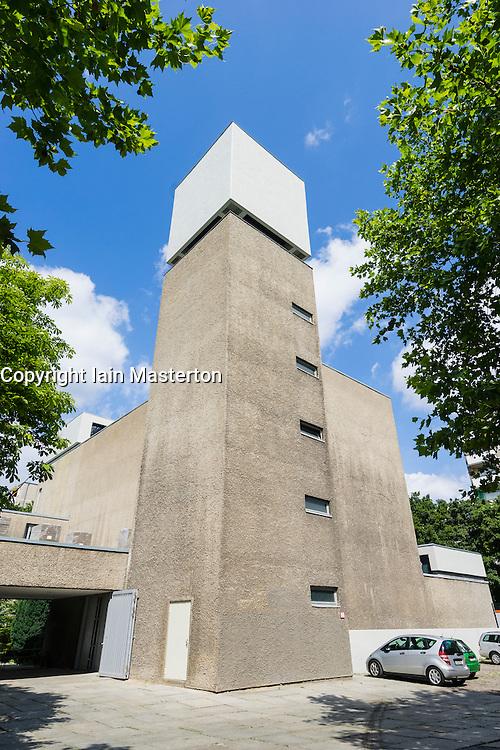 St Agnes church art space and community centre in Kreuzberg  Berlin Germany