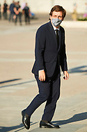 Jose Luis Martinez Almeida attend Covid-19 mass Funeral at La Almudena Cathedral on July 6, 2020 in Madrid, Spain