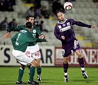 ◊Copyright:<br />GEPA pictures<br />◊Photographer:<br />Norbert Juvan<br />◊Name:<br />Rushfeldt<br />◊Rubric:<br />Sport<br />◊Type:<br />Fussball<br />◊Event:<br />T-Mobile Bundesliga, Austria Magna Wien vs SV Mattersburg<br />◊Site:<br />Wien, Austria<br />◊Date:<br />16/10/04<br />◊Description:<br />Sergej Mandreko (Mattersburg), Sigurd Rushfeldt (A.Wien)<br />◊Archive:<br />DCSNJ-1610041329<br />◊RegDate:<br />16.10.2004<br />◊Note:<br />8 MB - BG/BG