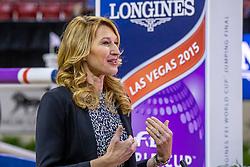 Steffi Graf, GER<br /> World Cup Final Jumping - Las Vegas 2015<br /> © Hippo Foto - Dirk Caremans<br /> 19/04/2015