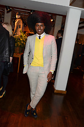PRINCE CASSIUS at the Men's Health, Oliver Spencer & Liberty Party held at Liberty, Regent Street, London on 17th June 2013.