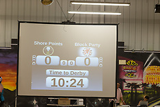 Philly Roller Girls Block Party vs Shore Points Roller Derby 7-26-15
