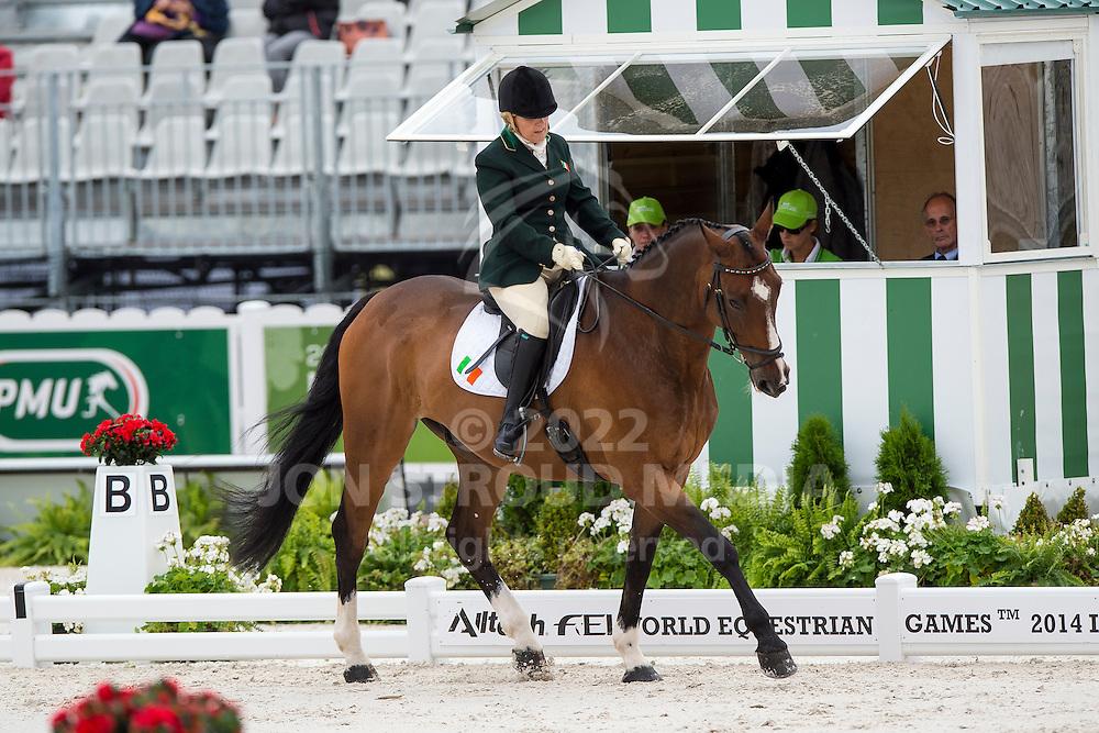Breda Bernie, (IRL), Master Mexico - Individual Test Grade Ib Para Dressage - Alltech FEI World Equestrian Games™ 2014 - Normandy, France.<br /> © Hippo Foto Team - Jon Stroud <br /> 25/06/14