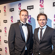 NLD/Hilversum/20160215 - Buma Awards 2016, Martijn Schimmer (R)