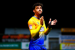 Tyler Walker of Mansfield Town acknowledges Mansfield Town fans at full time - Mandatory by-line: Ryan Crockett/JMP - 12/01/2019 - FOOTBALL - One Call Stadium - Mansfield, England - Mansfield Town v Yeovil Town - Sky Bet League Two