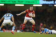 Scott Williams of Wales © in action. Under Armour 2016 series international rugby, Wales v Argentina at the Principality Stadium in Cardiff , South Wales on Saturday 12th November 2016. pic by Andrew Orchard, Andrew Orchard sports photography