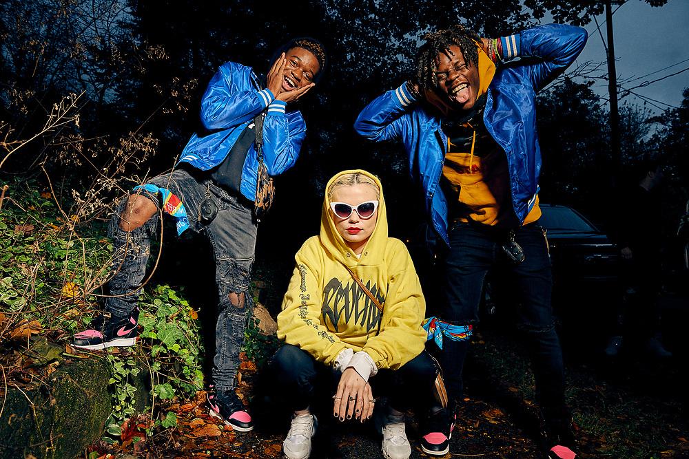 Lavaado, Sexton, and King Imprint photographed in Atlanta, GA for 300 Entertainment.
