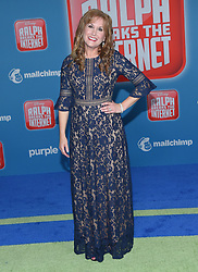 November 5, 2018 - Hollywood, California, U.S. - Jodi Benson arrives for the 'Ralph Breaks the Internet' World Premiere at the El Capitan theater. (Credit Image: © Lisa O'Connor/ZUMA Wire)