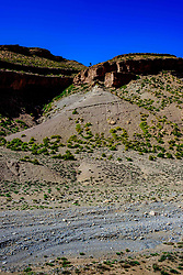 A view from the piste from Tamtetoucht to Msemrir, Morocco<br /> <br /> (c) Andrew Wilson   Edinburgh Elite media