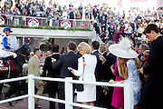 Longchamp Race course, Paris, France. .October 2nd 2011..Qatar Prix de l'Arc de Triomphe..The most competitive mile and half race in the world.....