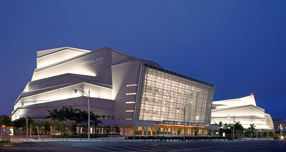 Adrienne Arsht Center for the Performing Arts Miami Architect Cesar Pelli 2006