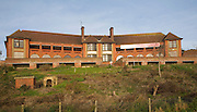 Former hospital building being converted to housing The Bartlet, Felixstowe, Suffolk, England