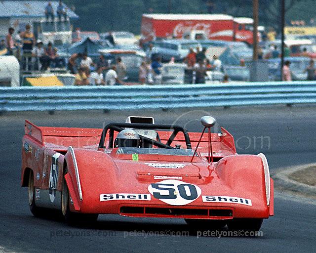 Mario Andretti, Ferrari 712P, 1971 Watkins Glen Can-Am