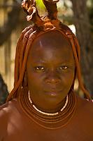 Himba tribe woman, Etosha National Park, Namibia