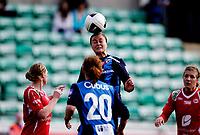 Fotball<br /> Toppserien<br /> Nadderud Stadion 05.04.10<br /> Stabæk - Arna Bjørnar<br /> Ingrid Sæthre<br /> Foto: Eirik Førde