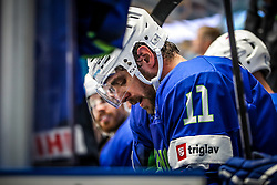 Anze Kopitar of Slovenia during ice hockey match between Slovenia and Lithuania at IIHF World Championship DIV. I Group A Kazakhstan 2019, on May 5, 2019 in Barys Arena, Nur-Sultan, Kazakhstan. Photo by Matic Klansek Velej / Sportida