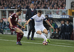 March 18, 2017 - Turin, Italy - Ivan Perisic in action during the Serie A match between FC Torino and FC Internazionale at Stadio Olimpico di Torino on March 18, 2017 in Turin, Italy. (Credit Image: © Loris Roselli/NurPhoto via ZUMA Press)