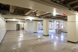 Sterling Memorial Library SML Tech Services Construction Progress. Second Photo Submission. Second Floor, Mezzanine.