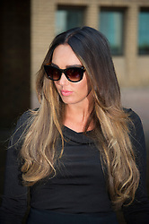 Tamara Ecclestone after giving evidence against two men accused of blackmailing her at Southwark Crown Court today, London, UK, 18 February, 2013. Photo by: i-Images