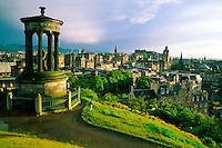 View from Calton Hill, Edinburgh, Scotland