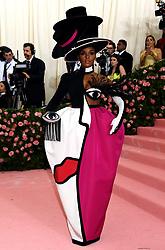 Janelle Monae attending the Metropolitan Museum of Art Costume Institute Benefit Gala 2019 in New York, USA.