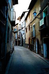 a street in Adahuesca, Huesca, Aragon, Spain<br /> <br /> (c) Andrew Wilson | Edinburgh Elite media