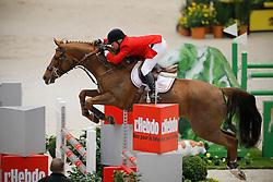 Gatlin Joie (USA) - Camaron Hill's Quick Dollar<br /> Rolex FEI World Cup Final - Geneve 2010<br /> © Dirk Caremans