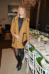 JADE PARFITT at the Creme de la Mer Blue Marine Foundation Dinner held at The Arts Club, 40 Dover Street, London on 23rd June 2015.
