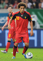 Fotball<br /> Tyskland v Belgia<br /> 11.10.2011<br /> Foto: Witters/Digitalsport<br /> NORWAY ONLY<br /> <br /> Axel Witsel<br /> Fussball, EM-Qualifikation, Belgien<br /> Fussball, EM-Qualifikation, Deutschland - Belgien 3:1