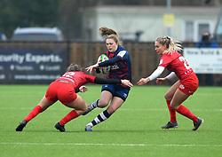 - Mandatory by-line: Paul Knight/JMP - 28/11/2020 - RUGBY - Shaftesbury Park - Bristol, England - Bristol Bears Women v Saracens Women - Allianz Premier 15s