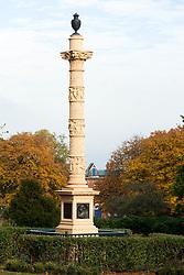 The Godfrey Sykes Memorial in Weston Park Sheffield<br /> 21 October 2012<br /> Image © Paul David Drabble