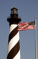 Cape Hatteras, Outer Banks, North Carolina--Cape Hatteras Light at 210 feet,isrecognized by the National Park Service as the tallest lighthouse in America. The lighthouse is one of several on the North Carolina coastthat are still operational.Built between 1868 and 1870, overone million bricks were used in it's constructionat a cost (then) of $167,500..