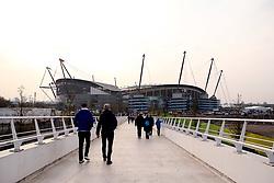 Manchester City arrive at The Etihad Stadium - Mandatory by-line: Robbie Stephenson/JMP - 17/04/2019 - FOOTBALL - Etihad Stadium - Manchester, England - Manchester City v Tottenham Hotspur - UEFA Champions League Quarter Final 2nd Leg