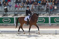 Caroline Cecilie Nielsen, (DEN), Leon - Freestyle Grade II Para Dressage - Alltech FEI World Equestrian Games™ 2014 - Normandy, France.<br /> © Hippo Foto Team - Leanjo de Koster<br /> 25/06/14
