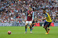 Jack Grealish of Aston Villa during the The FA Cup match between Arsenal and Aston Villa at Wembley Stadium, London, England on 30 May 2015. Photo by Phil Duncan.