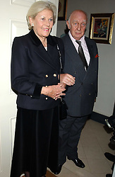 PRINCE & PRINCESS RUPERT LOWENSTEIN  at a Conservative Party Reception for the Art held at 24 Thurloe Square, Lndon SW7 on 5th April 2005.<br />