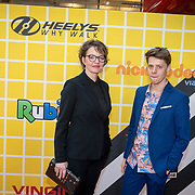 NLD/Amsterdam/20180325 - Nickelodeon Kid's Choice Awards 2018, Sanne Wallis de Vries en Leendert de Ridder