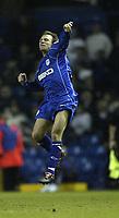 Fotball<br /> England 2004/2005<br /> Foto: SBI/Digitalsport<br /> NORWAY ONLY<br /> <br /> Leeds United v Millwall<br /> <br /> Coca-Cola Championship<br /> <br /> 19/12/2004<br /> <br /> Millwall's Jody Morris celebrates his goal