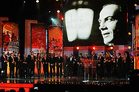 20120227: LISBON, PORTUGAL - SL Benfica 108th anniversary gala at Coliseu dos Recreios in Lisbon, Portugal.<br /> In photo: Jaime Graca tribute.<br /> PHOTO: Alvaro Isidoro/CITYFILES