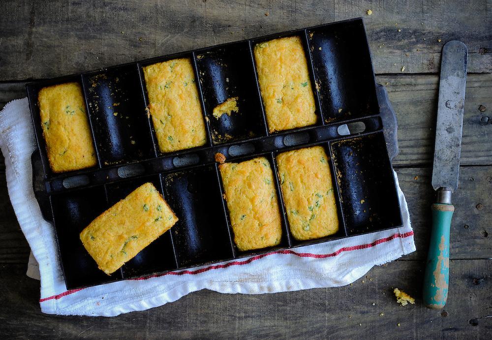 Spicy Corn Bread in Cast Iron