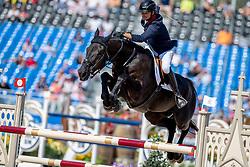 Delmotte Nicolas, FRA, Ilex VP<br /> World Equestrian Games - Tryon 2018<br /> © Hippo Foto - Dirk Caremans<br /> 21/09/2018