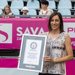 20210919: SLO, Tennis - Guinness World Records, Katarina Srebotnik